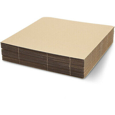 25 Pcs Corrugated Cardboard Sheets for Pcsing Shipping and Crafts 25 Pcs