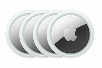 Apple AirTag - White 4-Pack brand New factory Sealed