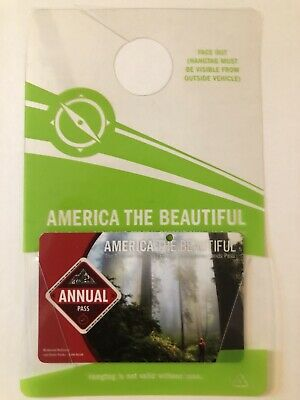 America the Beautiful - The National Parks Annual Pass Expires June 2022