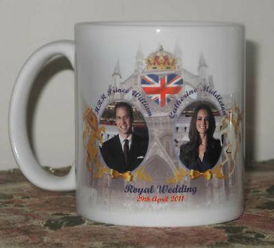 PRINCE WILLIAM AND KATE MIDDLETON WEDDING Mug Cup 5