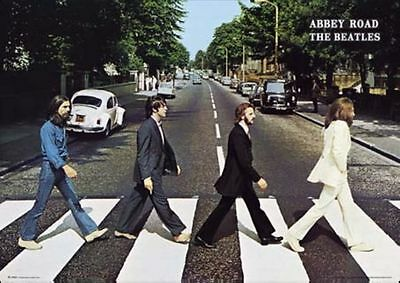 THE BEATLES ABBEY ROAD CLASSIC POSTER Size 24x36