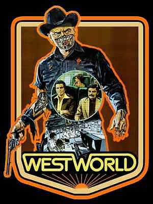 70s Sci-Fi Classic Westworld Poster Art custom tee Any size Any Color