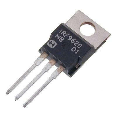 IRF9620 TRANSISTOR P MOSFET 200V 2 5A 40W TO220AB