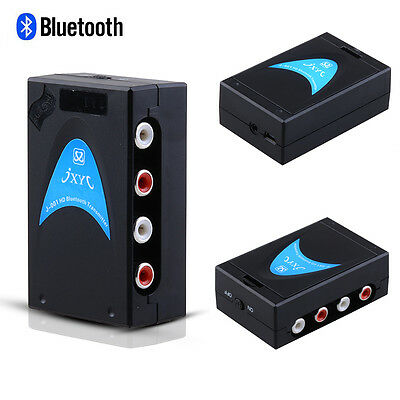Wireless Bluetooth Transmitter For TV PC Ipod MP4 W 3-5mm Stereo Audio Cable