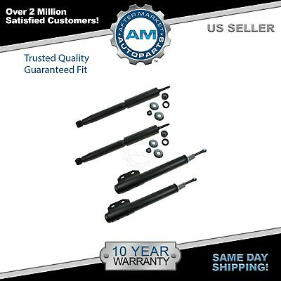 Front - Rear Shock Struts Left - Right Kit Set of 4 NEW for 94-04 Ford Mustang