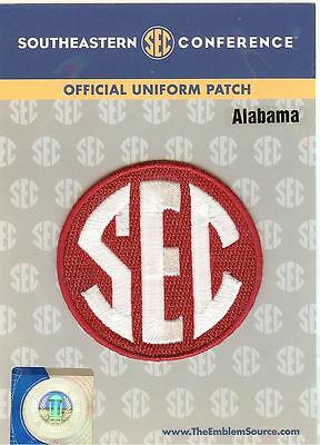 Alabama SEC Conference Jersey Uniform Patch 100 Official College Football Logo