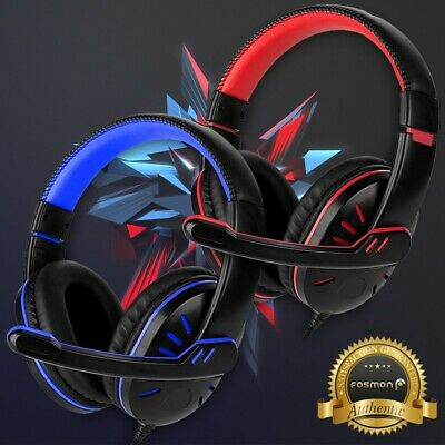 for PS4 Xbox One Nintendo Switch PC Stereo 3-5mm Wired Gaming Headset Headphone