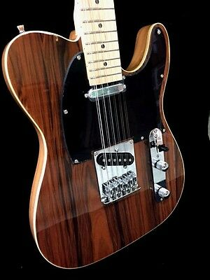 NEW 12 STRING COCOBOLO SOLID BODY TELE STYLE ELECTRIC GUITAR