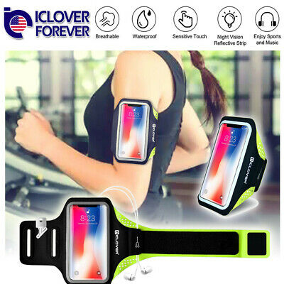 For iPhone 12 11 Pro MAX Mini Sports Armband Case Holder Gym Running Arm Band
