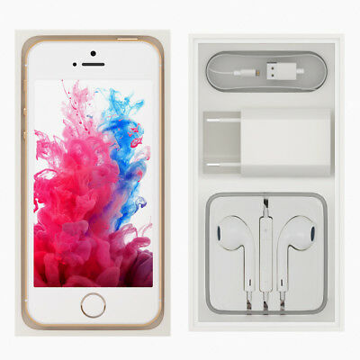 NEW SEALED BOX APPLE iPHONE 5S 4S 16GB 32GB 64GB FACTORY UNLOCKED -12MTH WTY