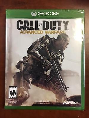 Call of Duty Advanced Warfare Microsoft Xbox One 2014 NEW