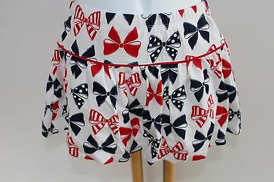 Gymboree Fourth Of July Girls Size 4 NWT Bow Skirt Red White Blue