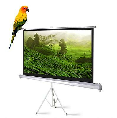 Portable Projector Projection Screen Tripod Projector Screen Pull-up Matte White