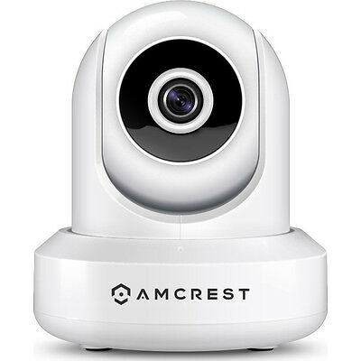 Amcrest IP2M-841 ProHD 1080P 1920TVL 30FPS Wireless WiFi IP Camera - White