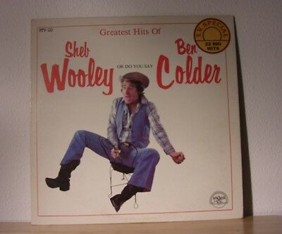 Sheb Wooley  Ben Colder Greatest Hits Of LP record album re-recordings
