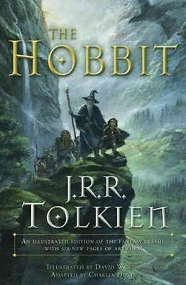 The Hobbit  Illustrated Edition of the Fantasy Classic Book by Tolkien NEW