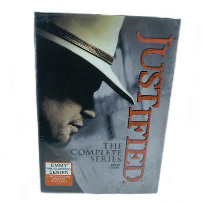 JUSTIFIED The Complete Series Seasons 1-7 DVD NEW 1 2 3 4 5 6