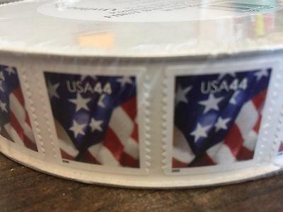 WCstamps 1320-00 Face Value - 1 Roll 3000 44c U-S- Stamps LOT2