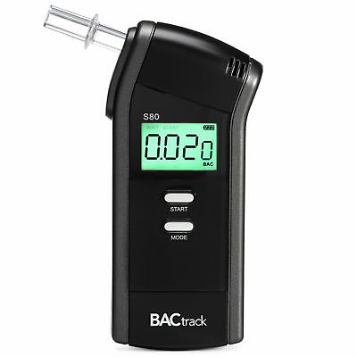BACtrack Select S80 Breathalyzer Professional Edition With 6 mouthpieces
