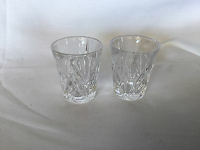 Waterford Crystal Shot Glasses Set of 2
