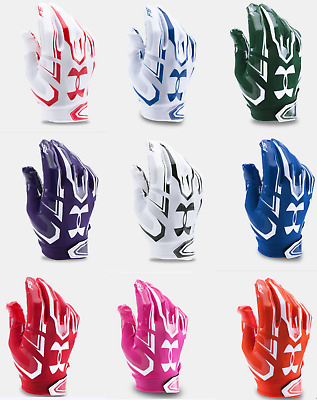 New Under Armour Mens Adult F5 Football Receiver Gloves - Choose Size and Color