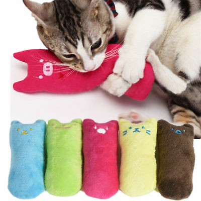 Creative Pillow Scratch Crazy Cat Chew Catnip Toy Teeth Grinding Toys