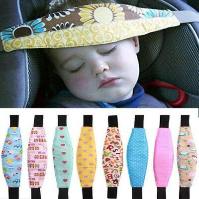 Baby Car Seat Safety Headrest Pillow Sleeping Head Support Pad For Kids Travel