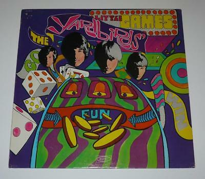 The Yardbirds Little Games LP With Near Mint Vinyl on the Original Epic Label