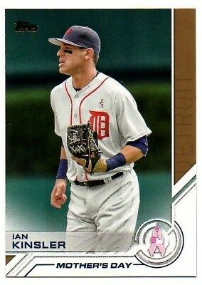 2017 Topps Salute Mothers Day S35 Ian Kinsler Detroit Tigers