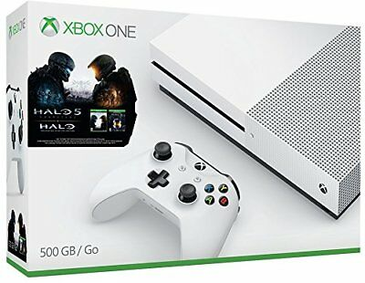 Microsoft Xbox One S 500GB Console Halo Collection Bundle NEW