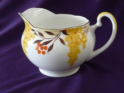 ROYAL GRAFTON CHINA 5773 PATTERN CREAM PITCHER