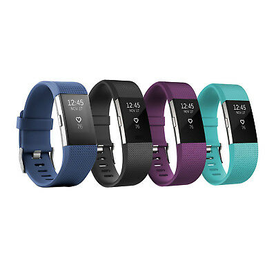 Fitbit Charge 2 Heart rate - Fitness Wristband Large and Small Size