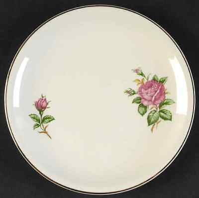 Paden City Pottery RED ROSE Bread - Butter Plate 825272