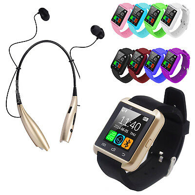 Bluetooth Smart Wrist Watch Phone For Android Samsung LG with Earphone