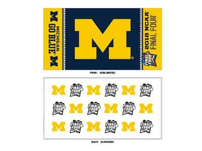 Michigan Wolverines 2018 NCAA Final Four March Madness Locker Room Towel