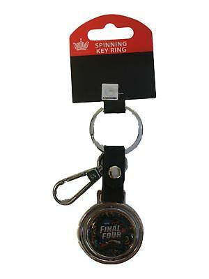 2018 NCAA Final Four Team Logos March Madness San Antonio Spinning Keychain