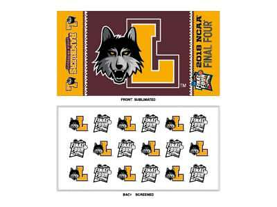 Loyola Chicago Ramblers 2018 NCAA Final Four March Madness Locker Room Towel