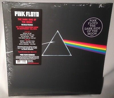 LP PINK FLOYD Dark Side of the Moon 180g Vinyl 2016 REMASTERED NEW MINT SEALED