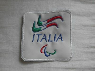 2018 PyeongChang - NPC Italy Paralympic Committee embroidered patch