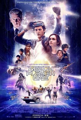 Ready Player One - original DS movie poster - 27x40 DS Final Spielberg