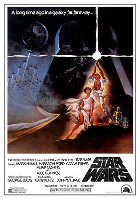 STAR WARS MOVIE POSTERS - Classic Movie Artwork Size 24x36 inches