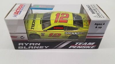 Ryan Blaney 2018 Lionel Collectibles 12 DuracellMenards Ford 164 FREE SHIP