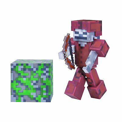 Minecraft Skeleton in Leather Armor Action Figure - NEW