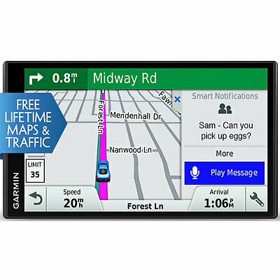 Garmin DriveSmart 61 NA LMT-S GPS w Smart Features