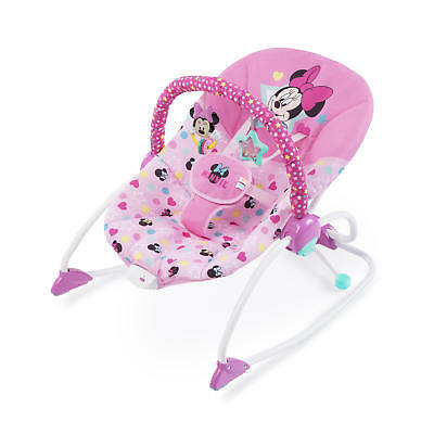 Disney Baby Minnie Mouse Stars - Smiles Infant To Toddler Rocker