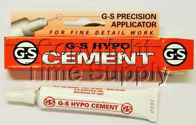GS HYPO CEMENT GLUE HOBBY CRAFT AND WATCH CRYSTAL GLUE USA