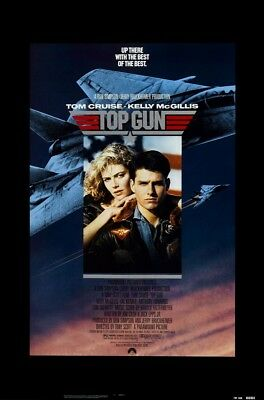 TOP GUN MOVIE POSTER USA Version Size 24 x 36