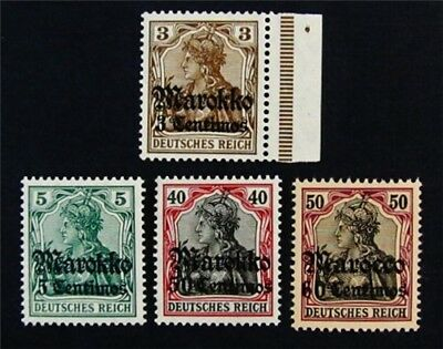 nystamps German Offices Abroad Morocco Stamp  27  51 Mint OG NH 57