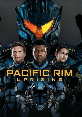 Pacific Rim Uprising DVD 2018
