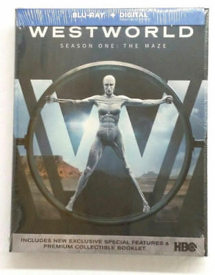 HBO Westworld Complete Season One1 Blu-ray - Digital 2017 FACTORY SEALED NEW